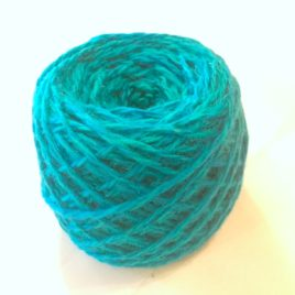Hand-dyed Turquoise