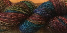 Black Rainbow - 80/20 Alpaca SIlk Blend